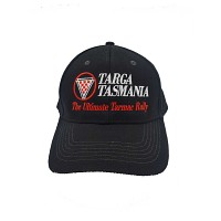 Event Cap Black Targa Logo